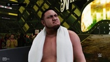 WWE 2K19 Samoa Joe vs AJ Styles