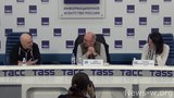 Ian Anderson (Jethro Tull) press conference beginning - Moscow, TASS, 27.04.2018