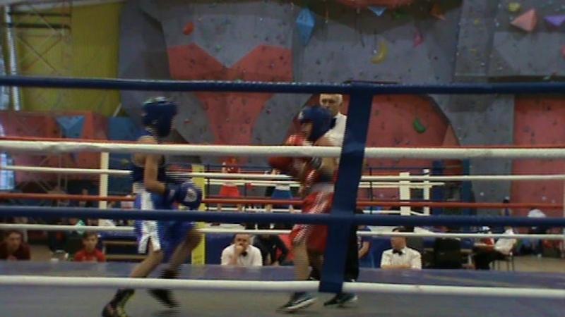 Егор 1 бой 2 раунд