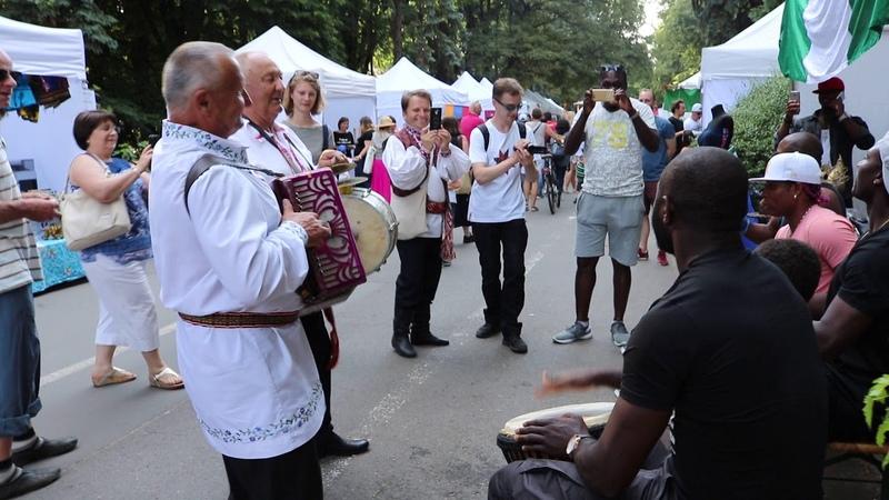 Беларуска нігерыйскі джэм у Варшаве 9.06.2018