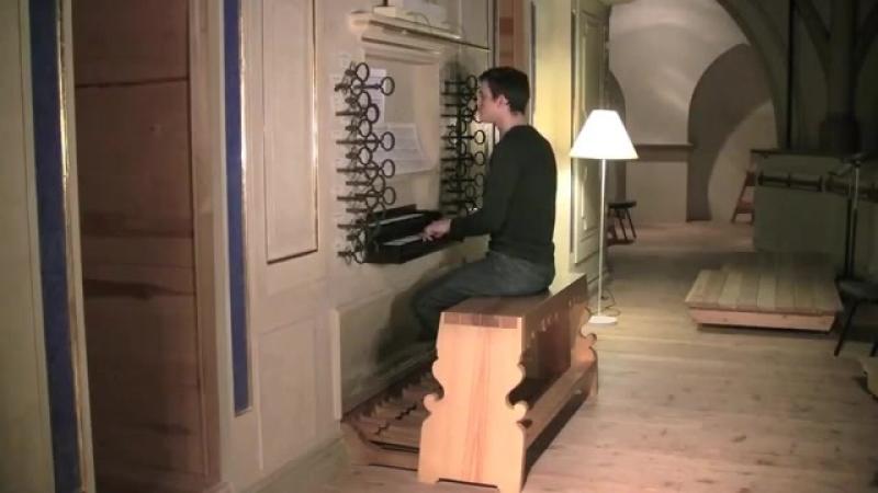 671 J. S. Bach - Chorale prelude Kyrie, Gott heiliger Geist , BWV 671 - David Baskeyfield