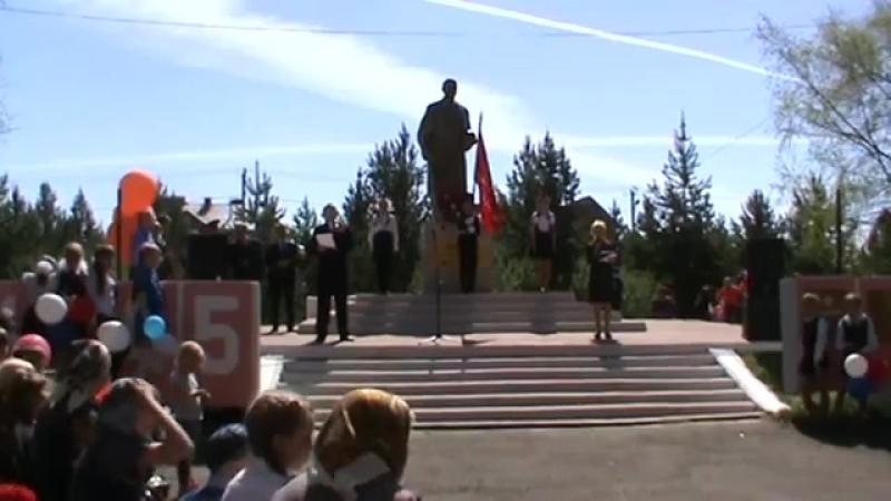 Кадников 9 мая 2016 г. - Парад Бессмертного полка