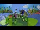 Anroid Игра Frog and bees симулятор жизни лягушки