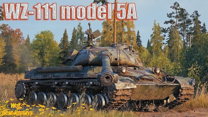 WZ 111 model 5A БронеТанковый МордоБой * Мурованка
