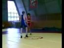 бор чемпион москвы по вольной борьбе-миша и инал на тренировке в цска