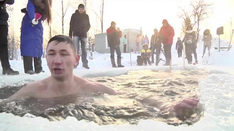Моржи открыли купальный сезон