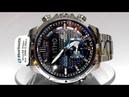 Casio Edifice ECB-800D-1A Bluetooth Solar powered watch video 2018