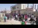 Дараа Жители Нава требуют входа САА в город ивыхода боевиков