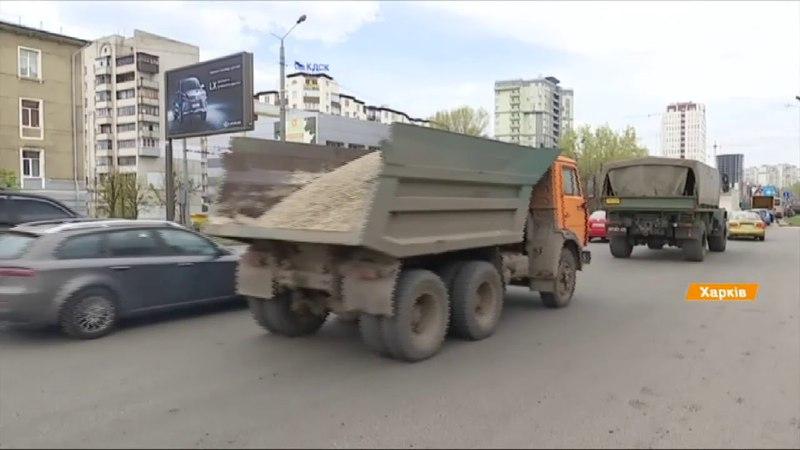 Не дорога, а водоем в Харькове утки поселились в ямах