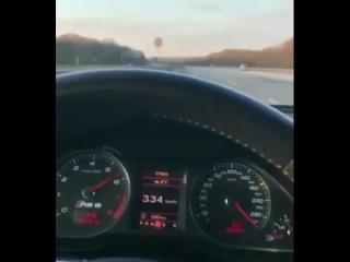 Разгон Audi впечатляет