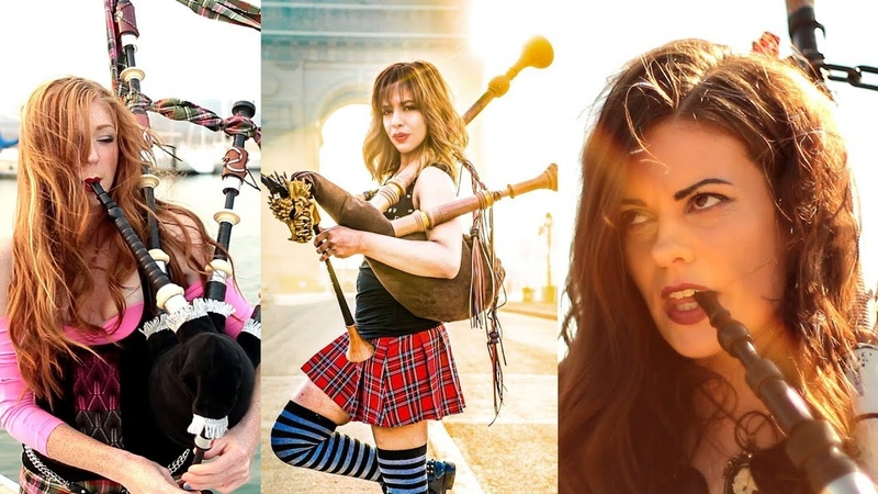 Shipping Up To Boston Enter Sandman - Bagpipe Cover (Goddesses of Bagpipe)