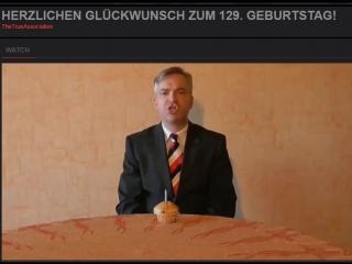 Herzlichen Glückwunsch zum 129. Geburtstag! Adolf Hitler...
