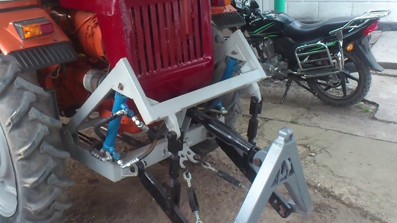 Навеска на трактор Т16