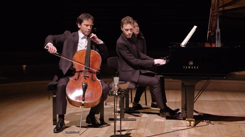 Brahms : Sonate violoncelle et piano n°1 (Jean-Guihen Queyras / Alexandre Tharaud)