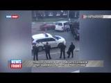 Появилось видео конфликта силовиков при задержании детективов НАБУ в Киеве