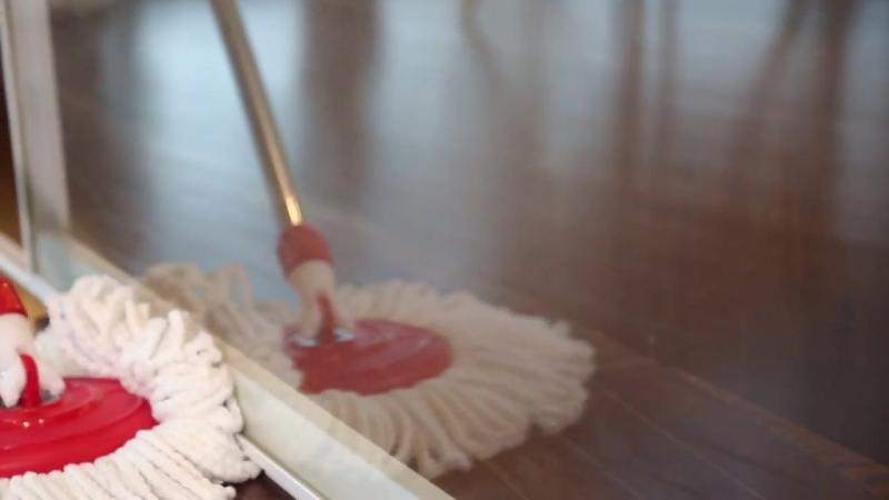 Комплект для уборки дома (швабра и ведро с отжимом)