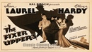 The Fixer Uppers (1935) Stan Laurel, Oliver Hardy, Mae Busch