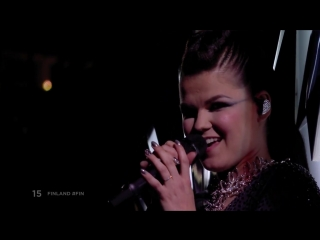 Saara aalto - monsters - finland - live - first semi-final - eurovision 2018 евровидение финляндия