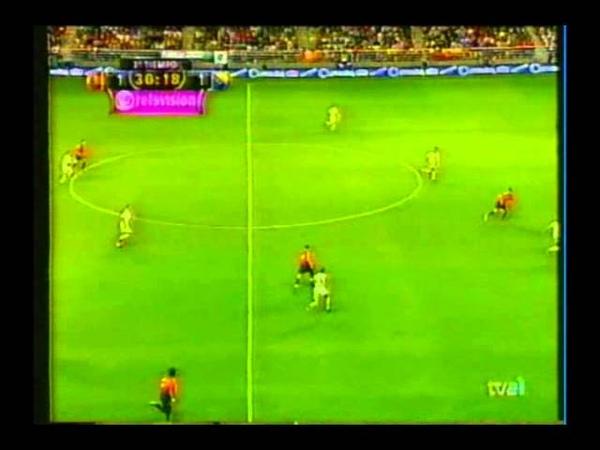 Испания 4-1 Босния и Герцеговина. Квалификация Чемпионата Мира 2002. Группа 7. 5 тур