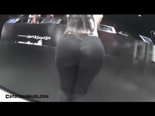 Latina With a Round Booty