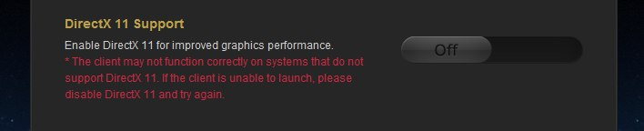 A fatal DirectX error has occured (10000000)