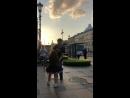 Дочка зажигает с туристом))