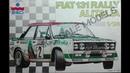 Обзор Fiat 131 Rally Alitalia ESCI 1/24 (сборные модели)