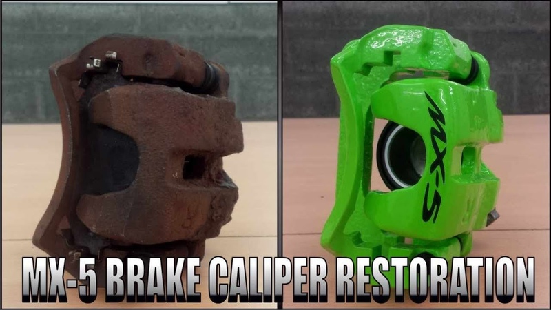 MAZDA MX-5 Brake Caliper Restoration ( Miata , Eunos )