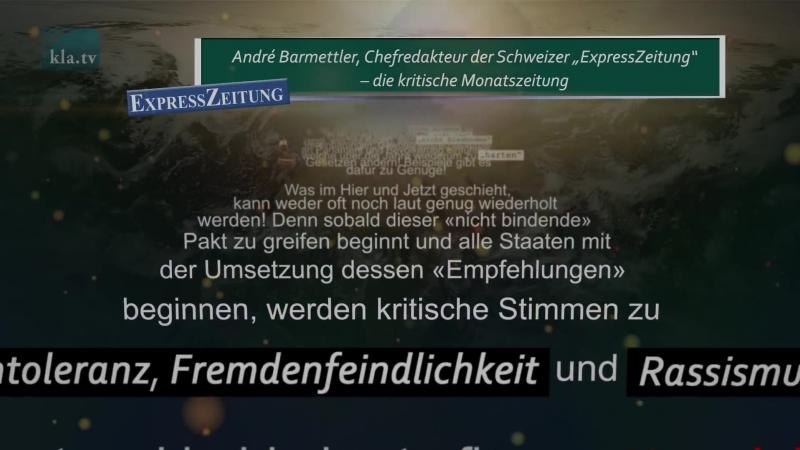 «Globaler Pakt für Migration» – Schwarz auf Weiss Es gibt kein Zurück!
