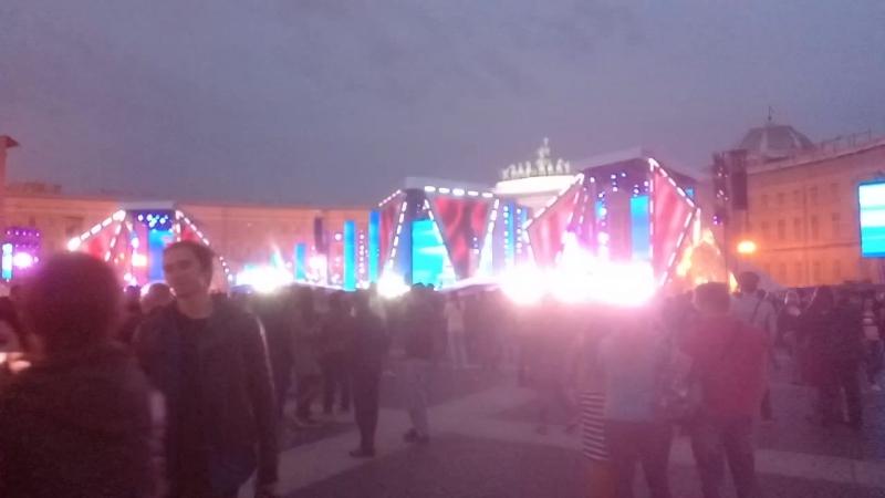 дворцовая, конец концерта 2018