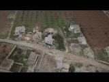 Сирия.15-01-2018.Отступление подразделений САА под огнем боевиков Ахрар аш Шам на северо-востоке провинции Хама