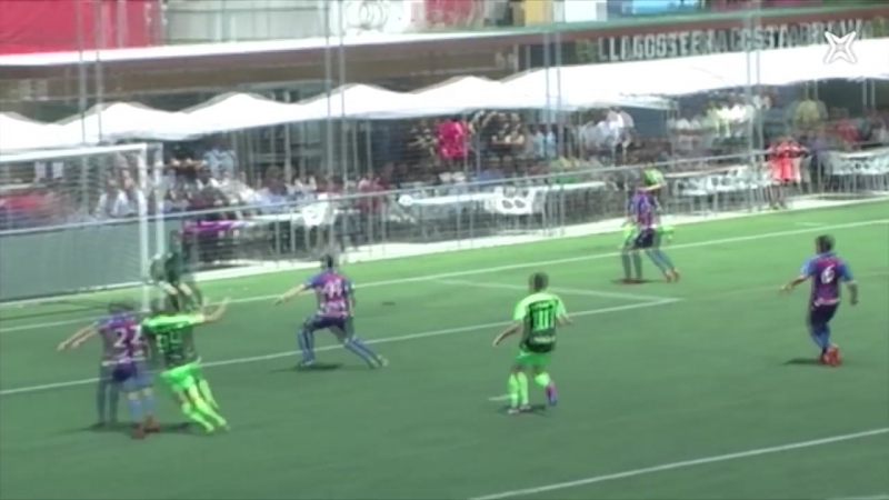 UE Льягостера-Коста Барва - CD Исарра, 0-0, Сегунда Б 2017-2018, плей-офф за право остаться, 1 матч