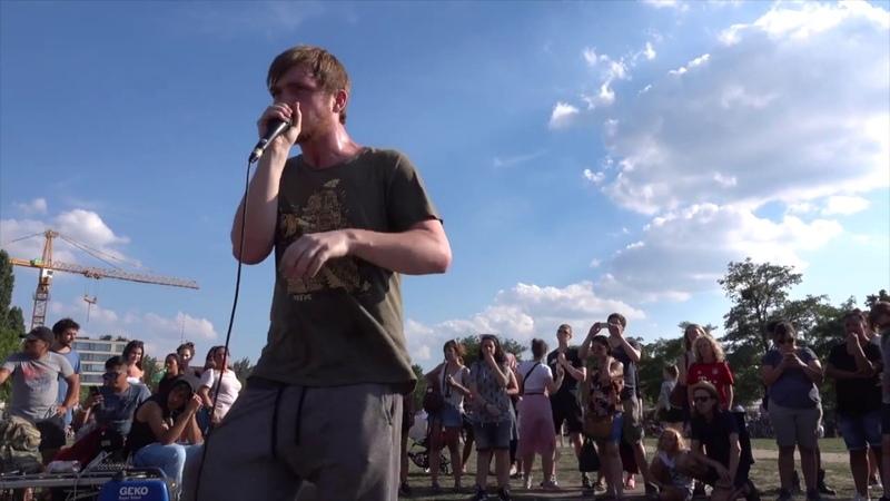 K-POM | FREESTYLE BEATBOX | STREET BEATBOX | Mauerpark Berlin 2018