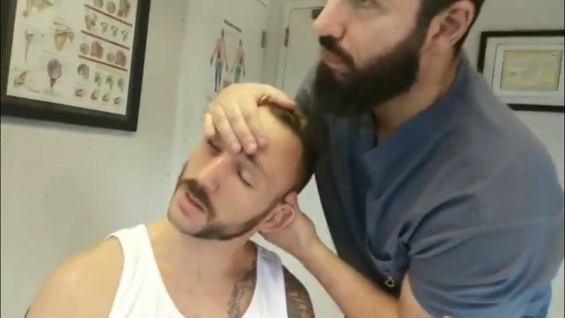 UFC phenom Lando Vanatta gets Chiropractic adjustments before UFC 226