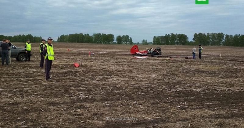 В Алтайском крае разбился самолет Як-52, есть погибшие