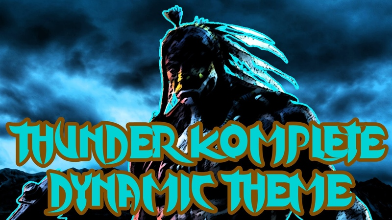 Thunders Komplete Dynamic Theme - Killer Instinct