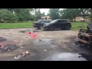 В Минске завёлся «ритуальный поджигатель» авто