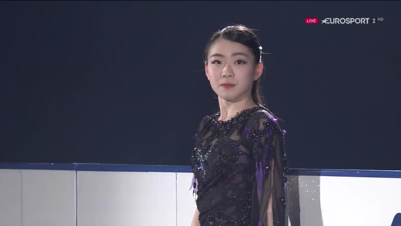 Rika Kihira 2018 NHK Trophy EX