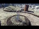 Начало сезона - огород 2018 (яблоневый сад, грядки, дорожки)