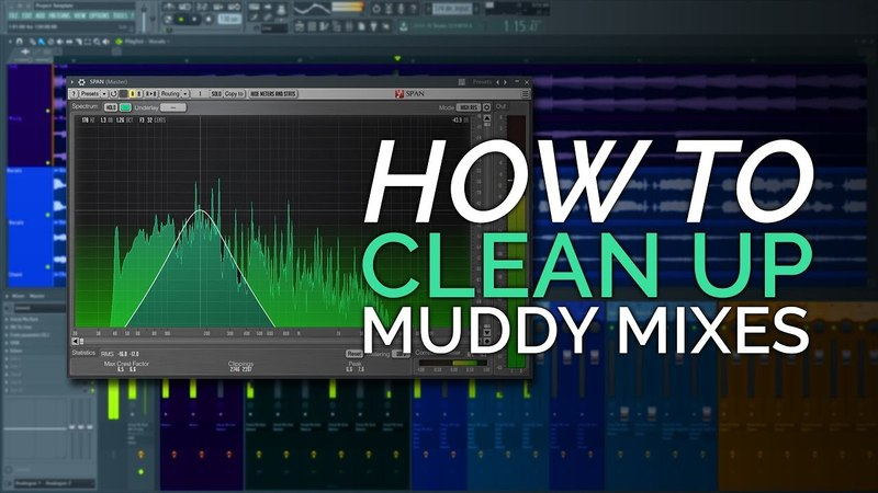 How to Clean up a Muddy Mix - Simple Mix Trick.