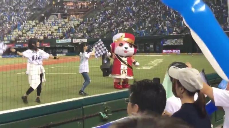 AiAi and KudoHaru Pacific League 6 Team FanCam