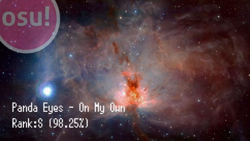 Osu! | Panda Eyes - On My Own [Hobbes2s Light Insane] 98.25 HD | -Oni-Chan-