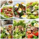 6 идей салатиков с тунцом!