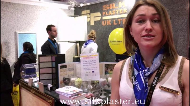 SILK PLASTER la expoziția Business Show 2018 în Londra, Marea Britanie