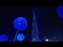 New year2018 in United Arab Emirates Dubai Новогодний фейерверк в Дубае 2018