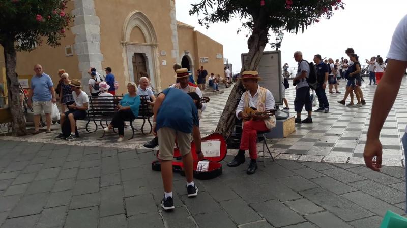 Мандолина на Сицилийской улице