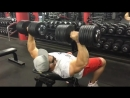 Упражнение на верх груд 4 п 8-10