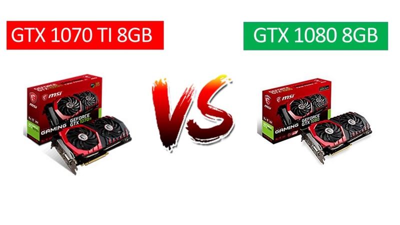 GTX 1070 Ti VS GTX 1080 - i7 8700k - 1080p, 1440p 4K Benchmarks Comparison
