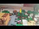 Матфей ТВ большая постройка Лего-Майнкрафт