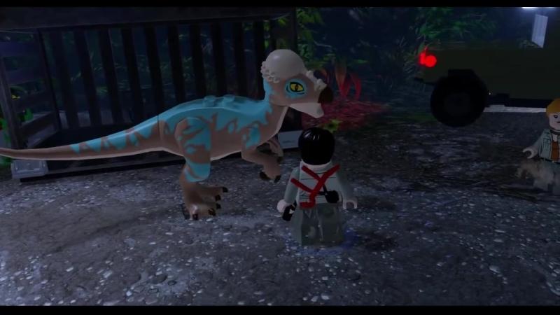 [Qewbite] LEGO Jurassic World Прохождение - Часть 12 - СПАСЕНИЕ ДИНОЗАВРОВ